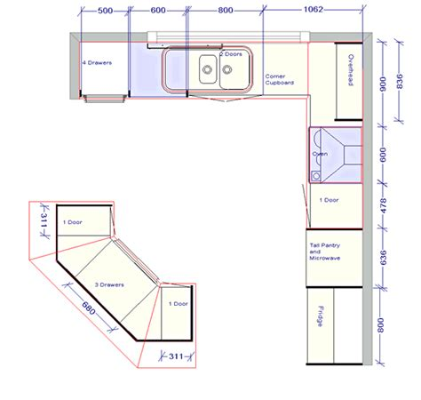 island kitchen plan tag for kitchen floor plan designs nanilumi