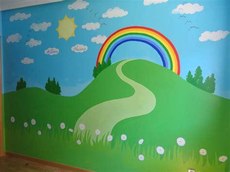 imagenes de paisajes juveniles murales paisajes en la pared murales pintados