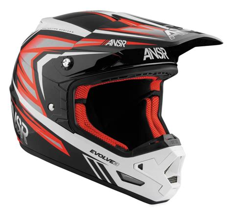 answer motocross helmets answer evolve 3 motocross mx helmet ebay