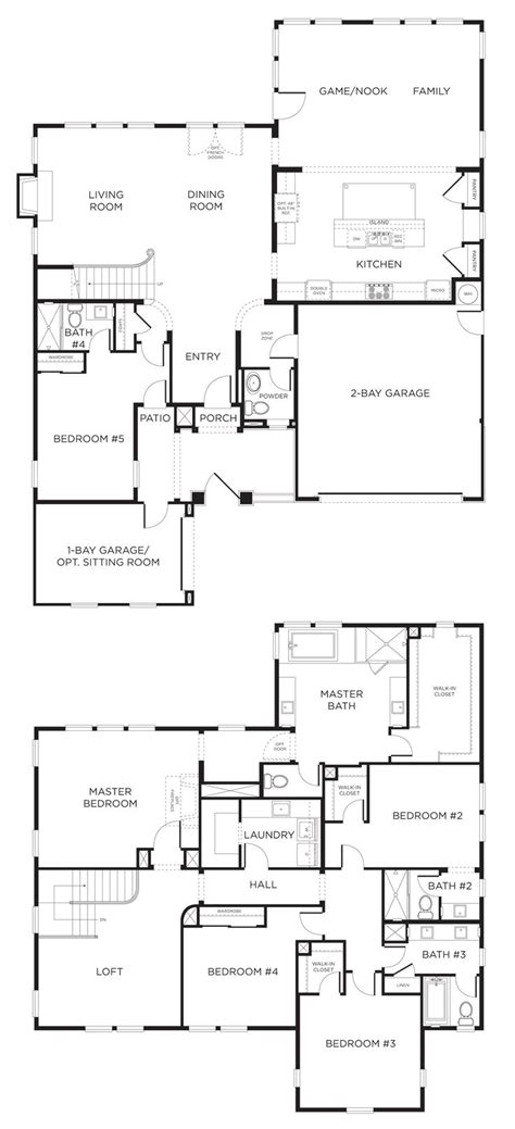 5 bedroom house designs 33 best fabulous floorplans images on pinterest floor plans house floor plans and