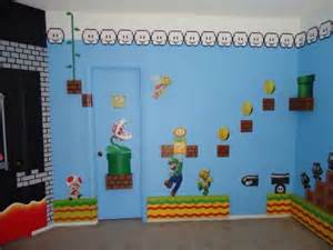 Mario Bedroom Super Mario Bedroom