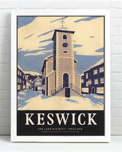 Small Town keswick print keswick general store