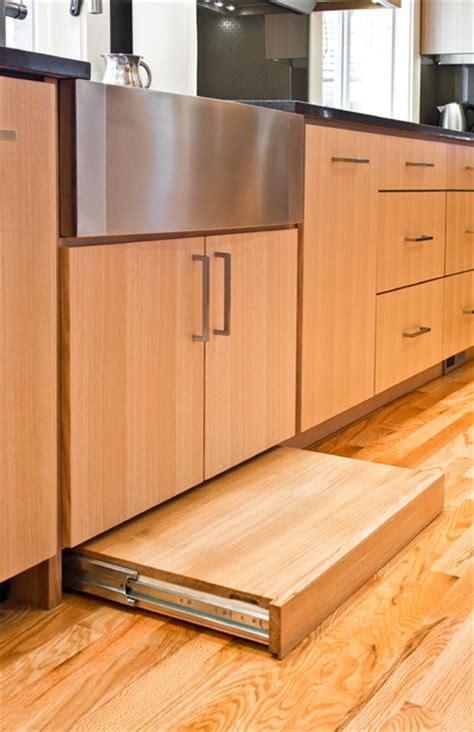 cutting kitchen cabinets kitchen rift cut white oak contemporary kitchen