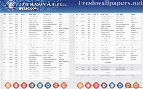 ipl 2017 calendar download ipl time table 2017 download holidays oo
