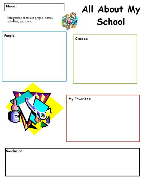 common core graphic organizer all about my k 5