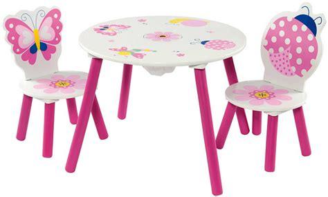 kinder stuhl und tisch kinder sitzgruppe mit kindertisch tisch und 2 st 252 hlen