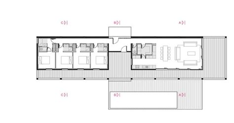 holiday house floor plans bellecombe holiday house acau archdaily