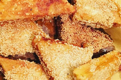 ricette della cucina cinese toast di gamberi al sesamo la ricetta dell antipasto