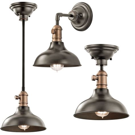 Kichler Lighting Catalogue Kichler 42579oz Olde Bronze Cobson Mini Pendant Ceiling Light Wall Sconce 8 Quot Wide