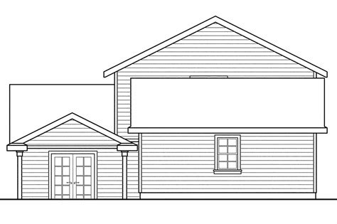 narrow house plans with garage 19 surprisingly narrow lot house plans with rear garage