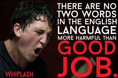 quotes film whiplash whiplash fletcher quotes quotesgram