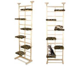 10 foot floor to ceiling cat tree sky tower cat climber no drilling into the walls