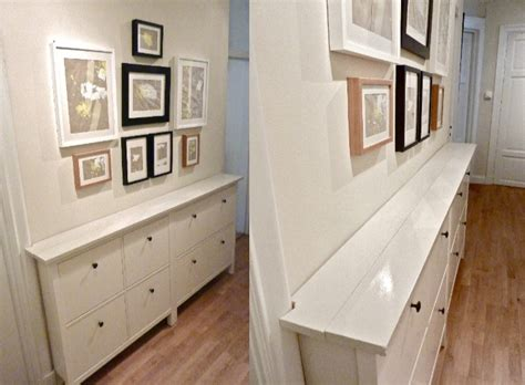 ikea hack hemnes shoe cabinet hemnes gets a double topping get home decorating