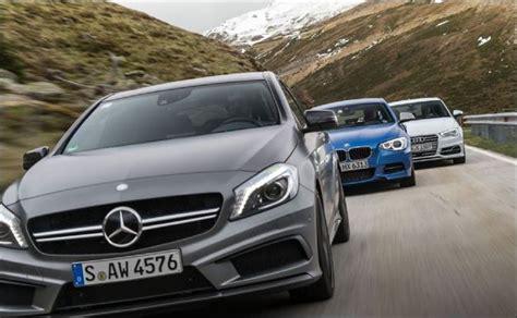 mercedes audi bmw auto manufacturer on audi bmw mercedes race ahead