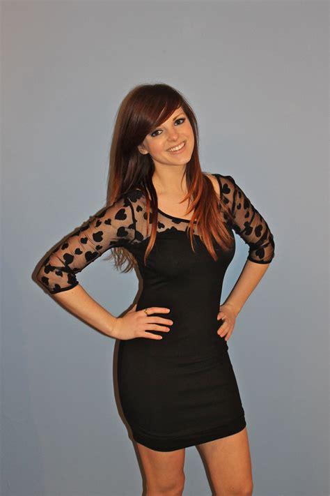 Dress Black Mini black mini dress dressed up