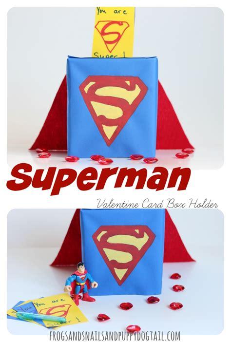 superman valentines superman card box holder fspdt