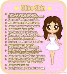 mediterranean skin color olive skin on