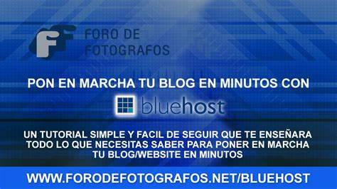 bluehost wordpress tutorial youtube como comenzar tu blog en minutos tutorial para bluehost