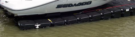 boat lift uneven best boat lifts for muddy and ueven sea floors
