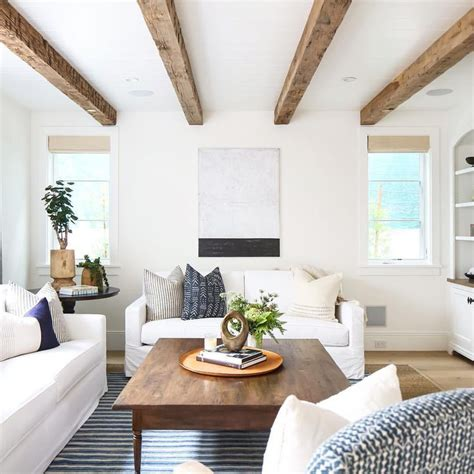 living room ceiling beams 25 best ideas about wood ceiling beams on