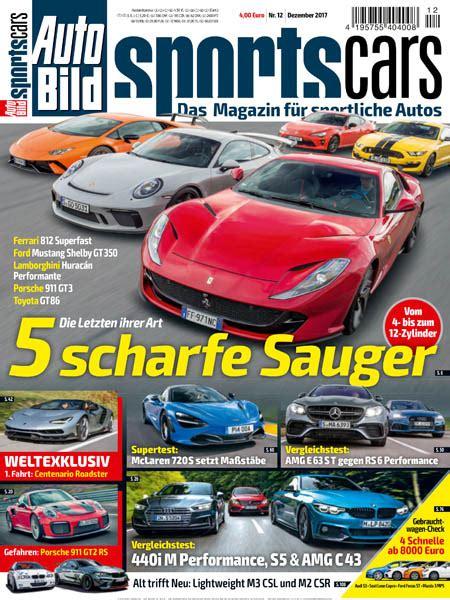 Auto Bild Sportscars 4 2017 by Auto Bild Sportscars 12 2017 187 Pdf Magazines