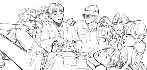 Bts V Coloring Pages by Bangtan Boys Coloring Pages Related Keywords Bangtan