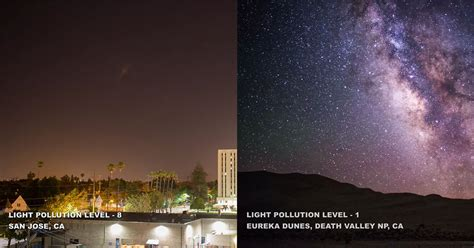 what is light this is how light pollution affects how we see the sky