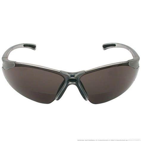 radians reading bifocal smoke c2 safety glasses 1 5