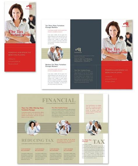 Brochure Templates Top 25 Free And Paid Options Free Accounting Flyers Templates