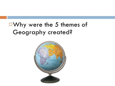 5 themes of geography antarctica july 15 introduction to 5 themes of geography