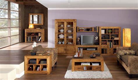 salon modular rustico  muebles saskia en pamplona
