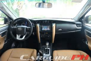 How To Make Car Interior Quieter First Drive 2016 Toyota Fortuner 2 4 V And 2 4 G 4x2