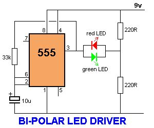 bi colour led running lights circuit diagram world 47 projects to do with a 555 all