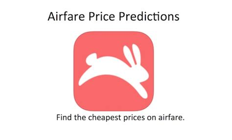 airfare prediction app hopper helping you find low prices on airfare ipadwisdom