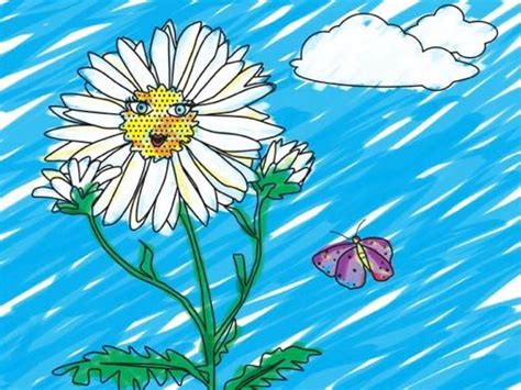 Flower Friends Rosies Colours Print And Play Color Me You Can Color