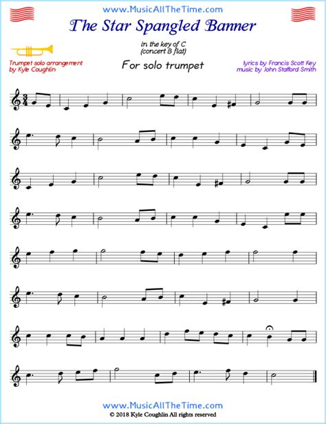 Free Printable Sheet For Trumpet