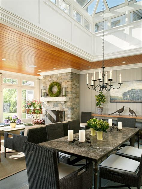 farmhouse sunroom design ideas remodel pictures houzz