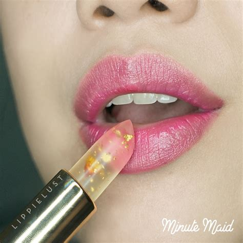 Wardah Jelly kailijumei fancy jelly lipstick with real flower and gold flakes lippielust