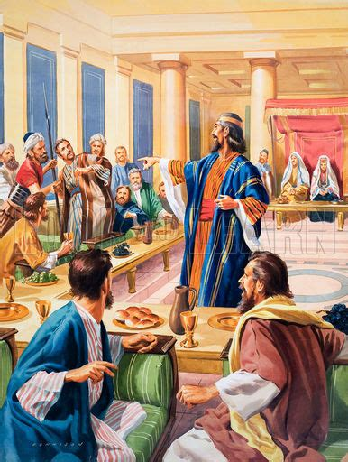 Wedding Feast Bible The Parable Of The Wedding Feast Look And Learn History