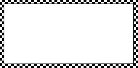 checkerboard business card border templates worldlabel border bw checkered x clip free vector in