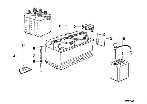 Original Bmw 1er Batterie by Original Bmw Batterie Gef 252 Llt 90ah 1er 3er 5er 7er X3 X5