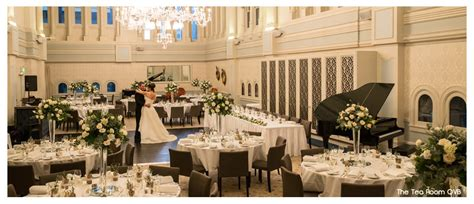 wedding ceremony venues inner west sydney the tea room qvb ballroom hire weddings