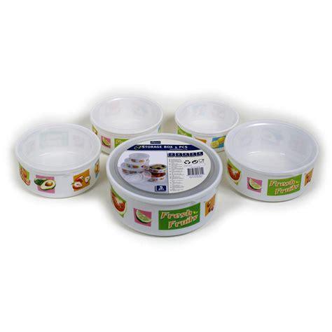 contenitori in plastica per alimenti con coperchio set 5 pezzi contenitori ermetici per alimenti in plastica