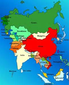 asia map 10 interesting asia facts my interesting facts