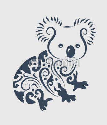 koala bear tattoo designs vector koala design tattoos koala