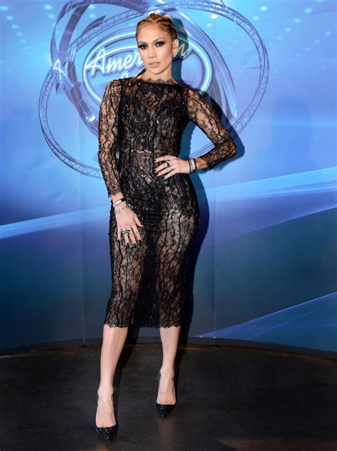 Style J Los Dress j lo stuns in a sheer dress with cornrows on american