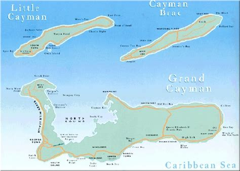 map of cayman islands avantfind