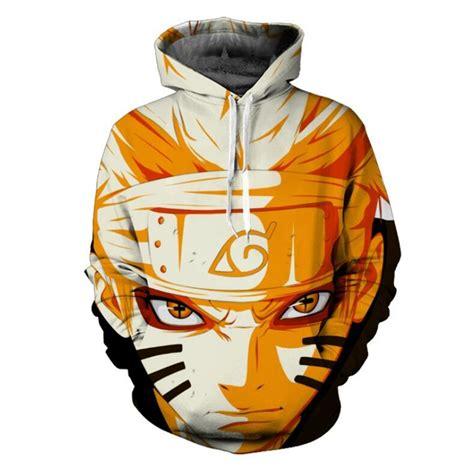 Longsleeve Anime Marine Big One characters uzumaki sasuke 3d anime hoodie sweatshirt sleeve