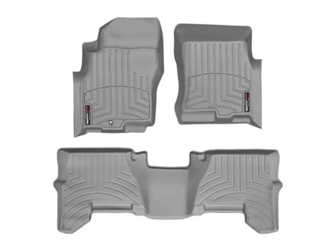 nissan pathfinder front rear floor mats 2005 2011 by