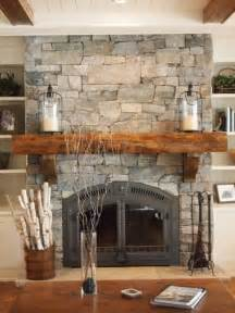 Rustic country style living rooms with fireplace and brown sofa rustic